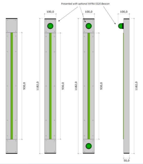 INFRA 5222G measurements